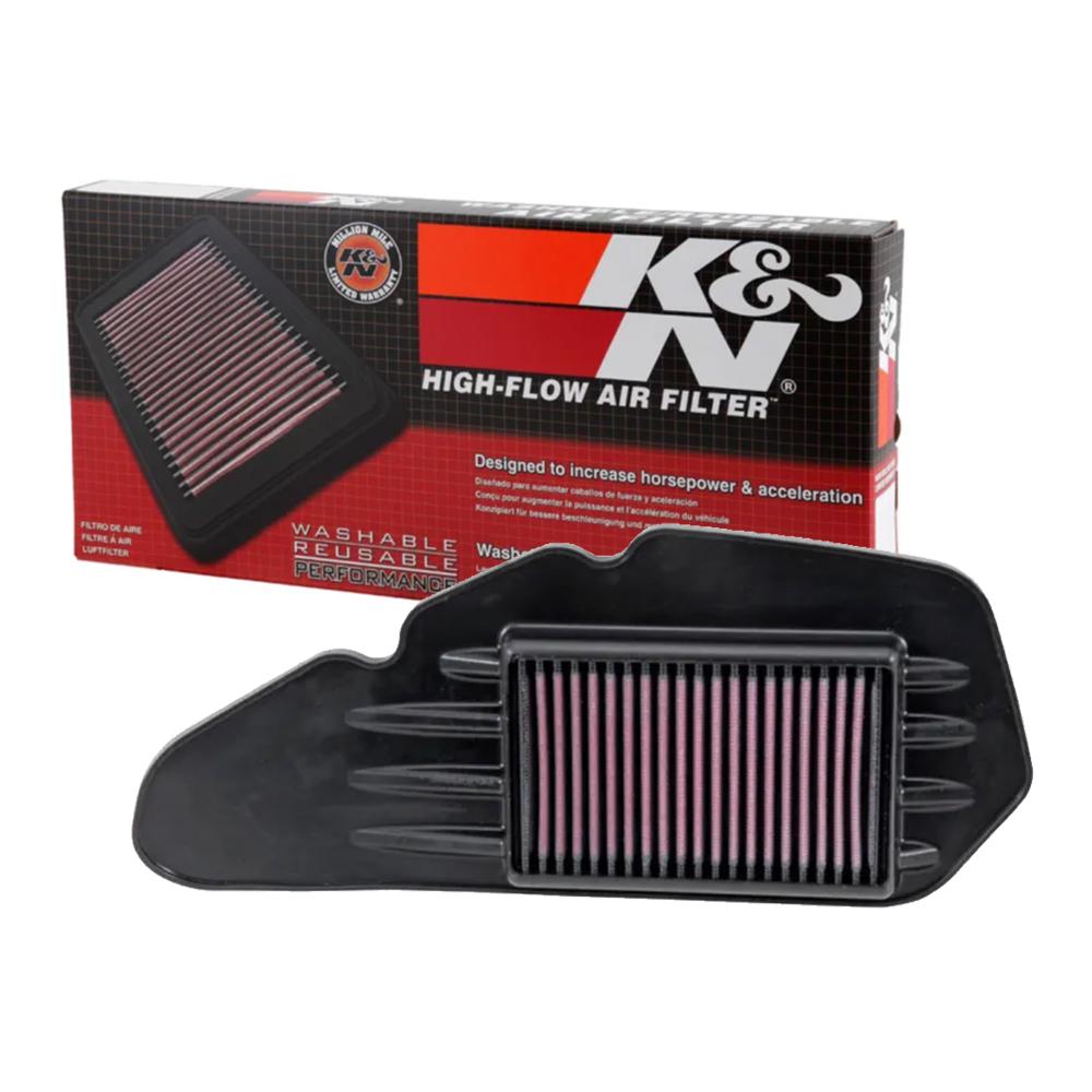 Lọc gió K&N HA-1213 xe Honda CLICK, VARIO, PCX, SH MODE, AIR BLADE