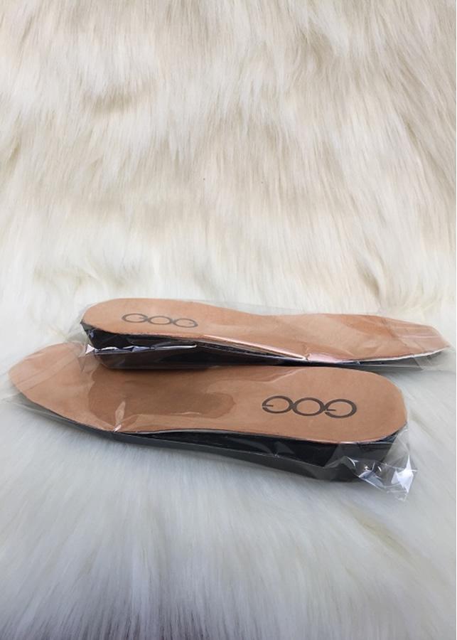 Lót nâng chiều cao 3 - 5 cm màu vàng bò GOG LOTCAOVang