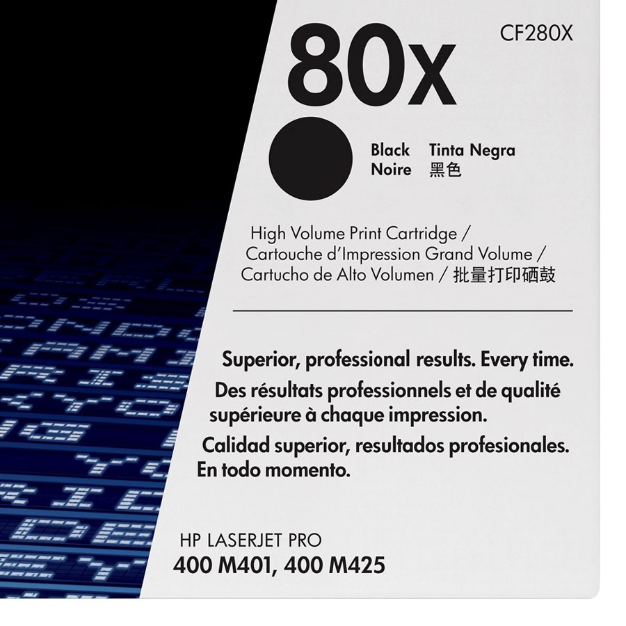 Mực In HP CF280X (HP 80X) Cho Máy In HP M401dn, HP M401dw, HP M401n, HP M401dne, HP M425dn - Hàng Chính Hãng