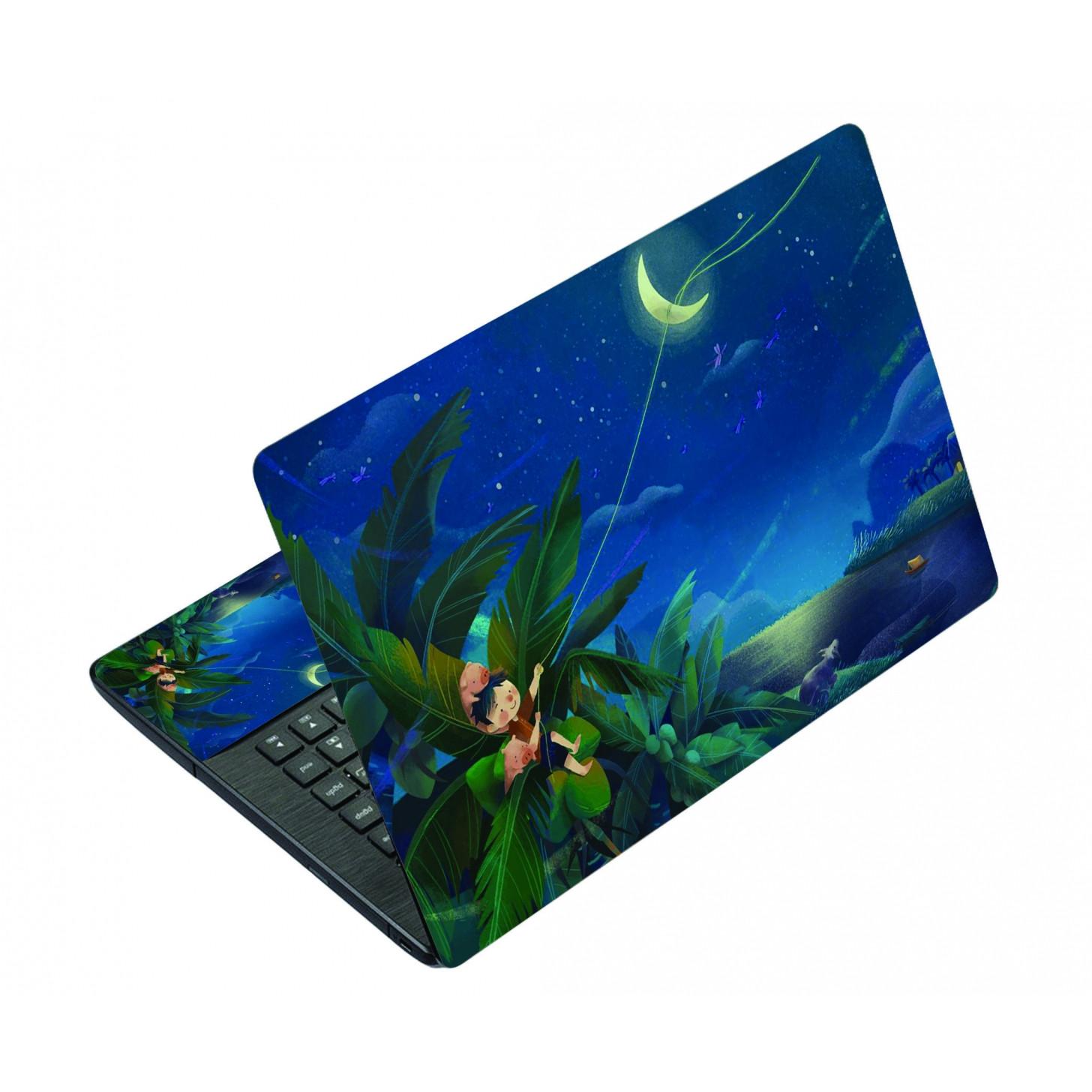 Miếng Dán Decal Dành Cho Laptop Mẫu Hoạt Hình LTHH - 367 cỡ 13 inch