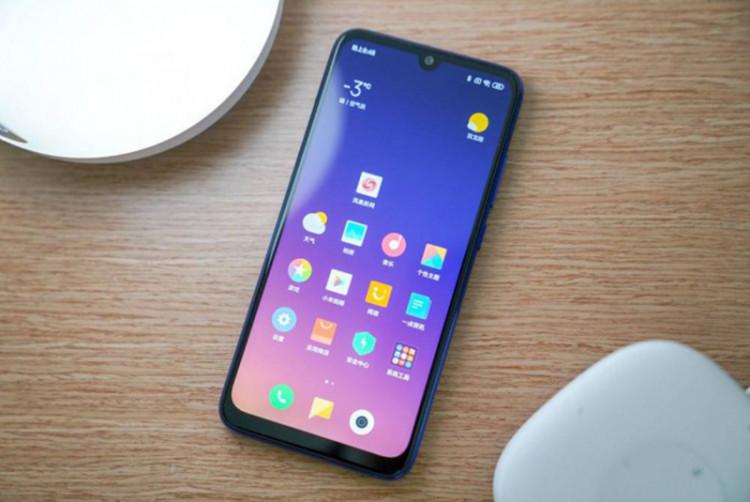 Màn hình của điện thoại Xiaomi Redmi 7 chính hãng