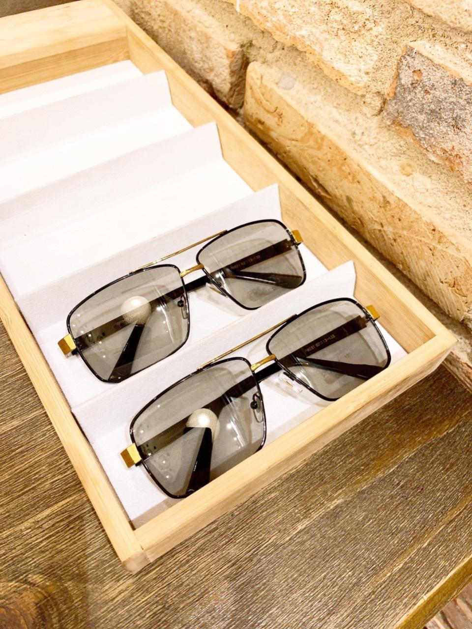 Kính mát nam cao cấp tròng kính đổi màu khi đi ra nắng, đổi màu theo nhiệt độ viền kim loại Jun Secrect POR8031
