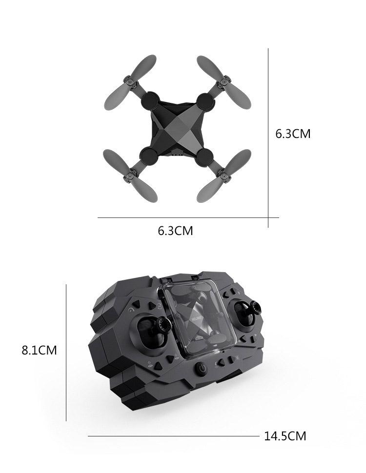 Flycam điều khiển từ xa 4 cánh, máy bay Flycam, máy bay camera Selfie trên cao - Dễ dàng điều khiển