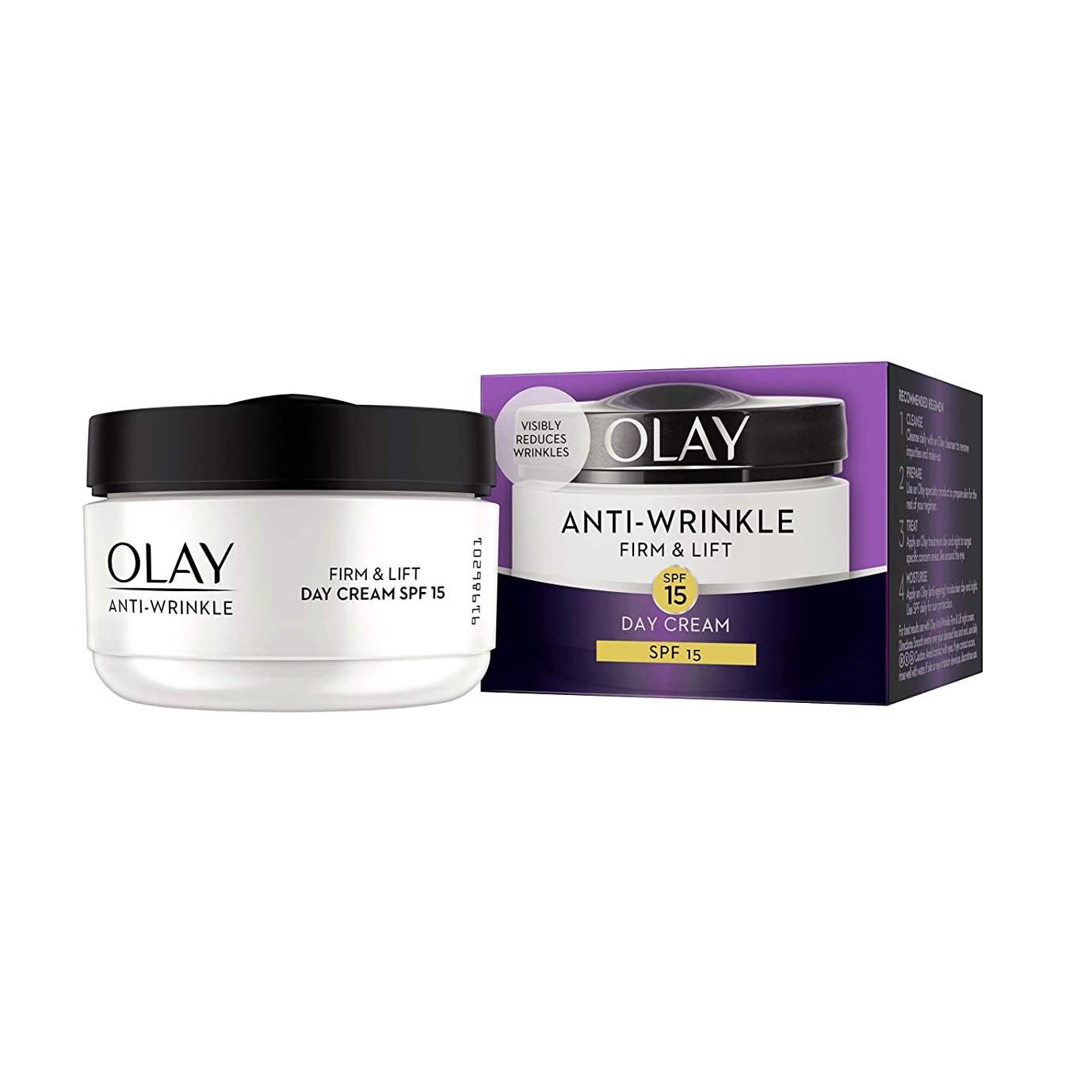 Kem dưỡng ngày chống nhăn và nâng cơ Olay Anti-Wrinkle 2In1 Firm & Lift 50ml
