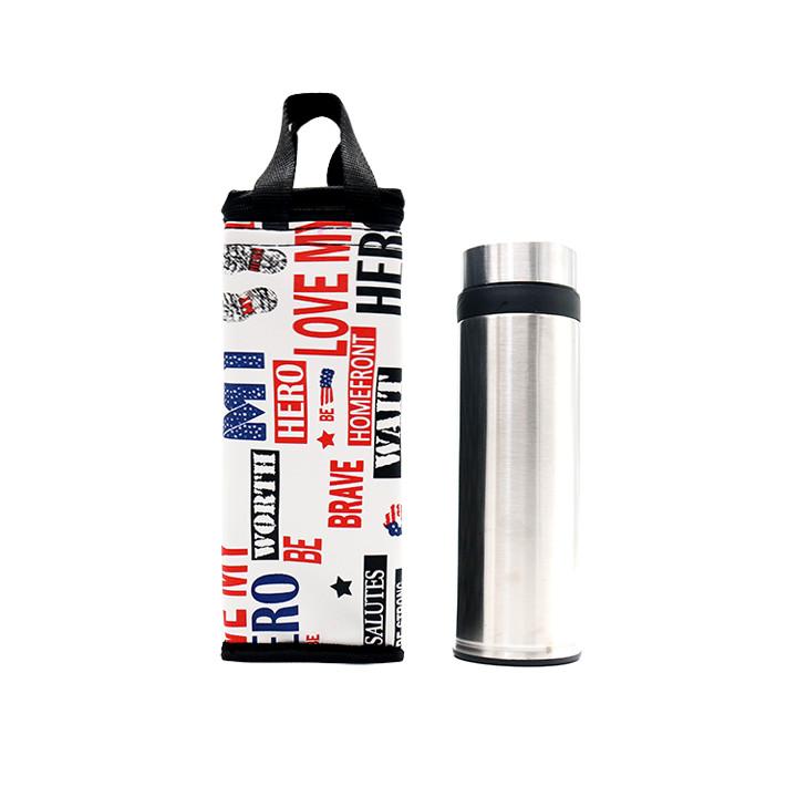 Túi giữ nhiệt bình nước họa tiết My Hero+ 1 mút lau chùi siêu tạo bọt Nhật Bản(Giao màu ngẫu nhiên)