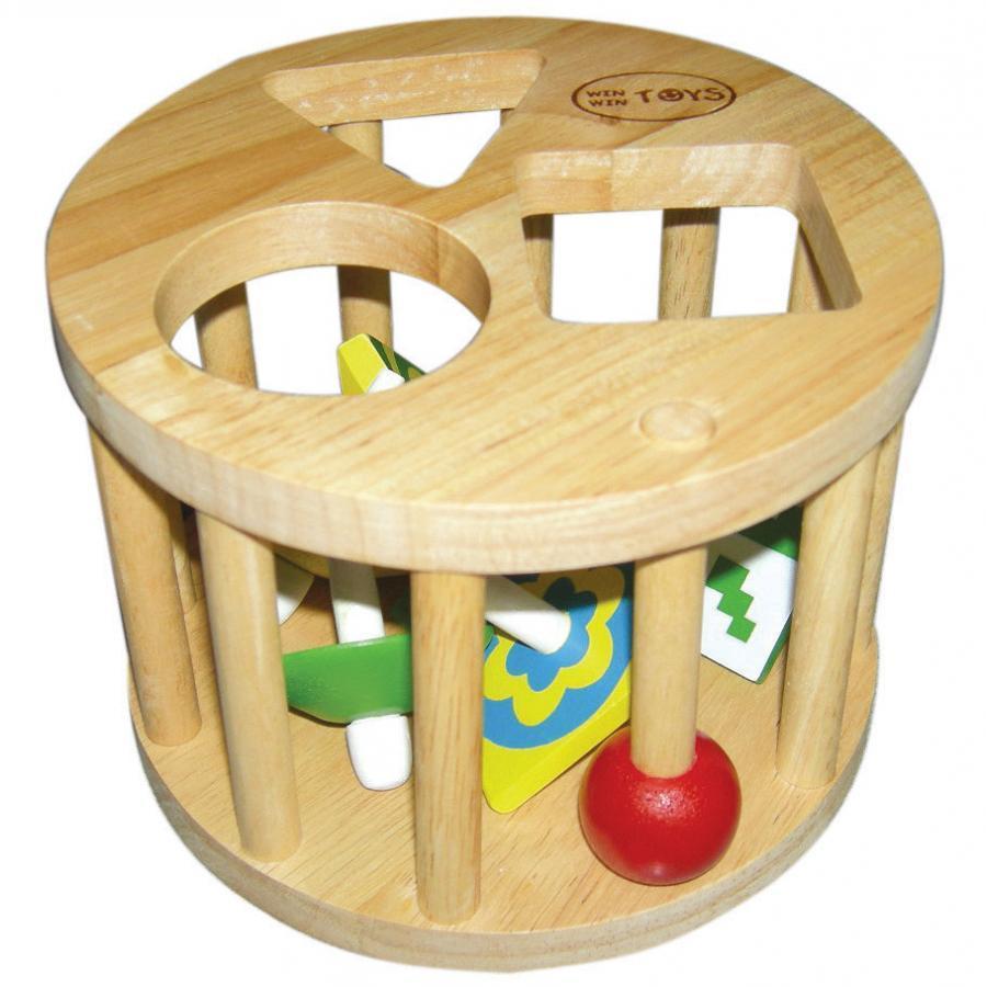 Đồ chơi gỗ lồng tròn 6 con vụ (61022)