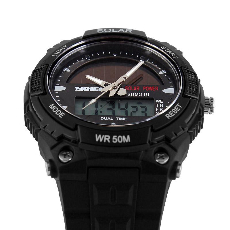 Đồng hồ đeo tay Skmei - 1049BK-Hàng Chính Hãng