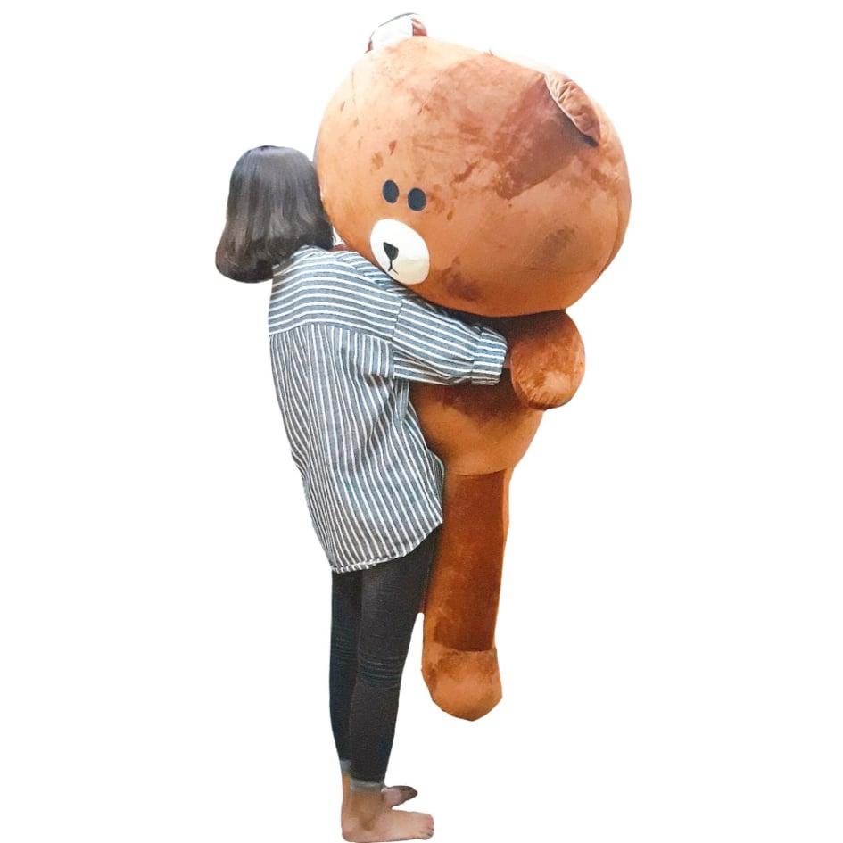 Gấu bông Brown đầu bư cute làm quà tặng ý nghĩa