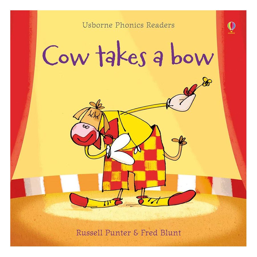 Usborne Cow takes a bow
