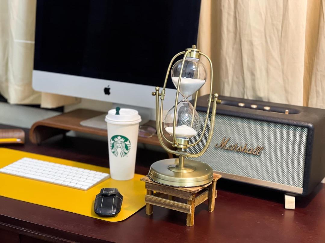 Kệ Đỡ Màn Hình Máy Tính Monitor Stand Walnut Plyconcept MSM01003 (490 x 200 mm) - Nâu Đậm