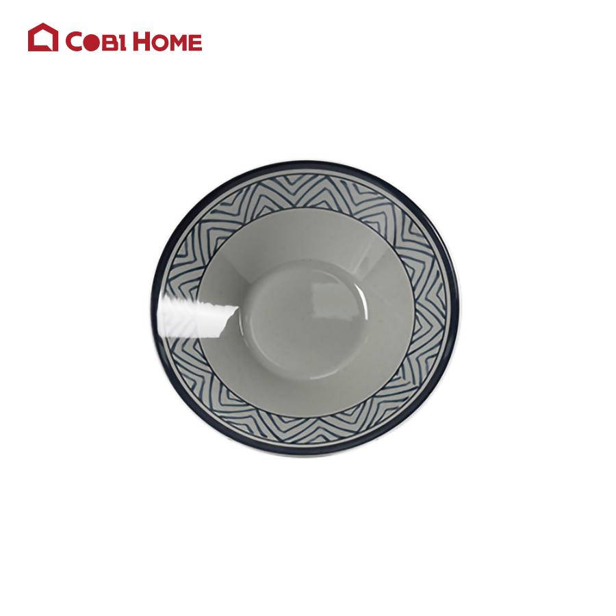 Tô tròn đựng canh tạo kiểu miệng rộng  bằng melamine cao cấp ( nhiều size)