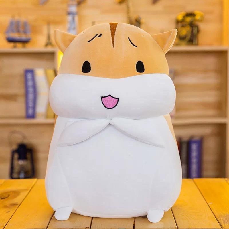 Gấu bông Thú nhồi bông chuột béo Hamster 40cm chất siêu mềm co dãn 4 chiều cho bé