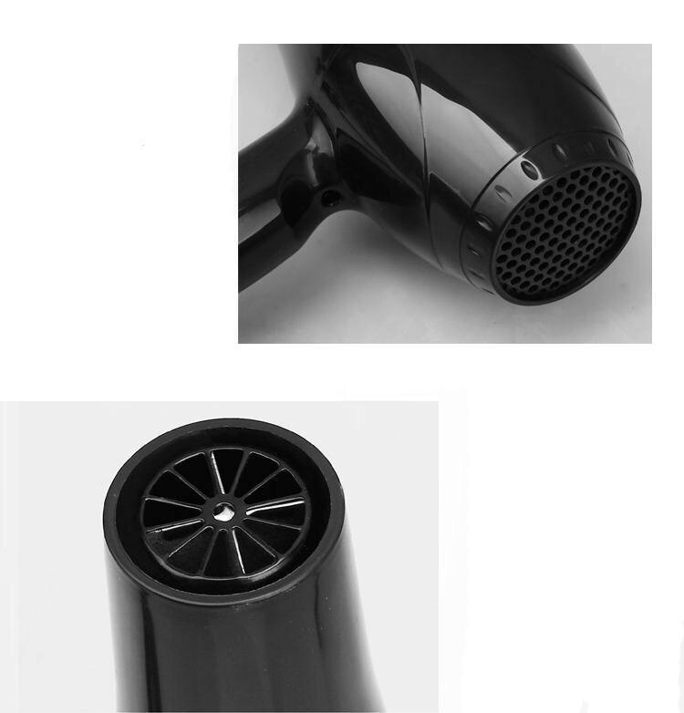 Máy sấy tóc 8018 công suất lớn và chế độ sấy nhanh cho luồng gió mạnh, an toàn, bảo vệ mái tóc DL08