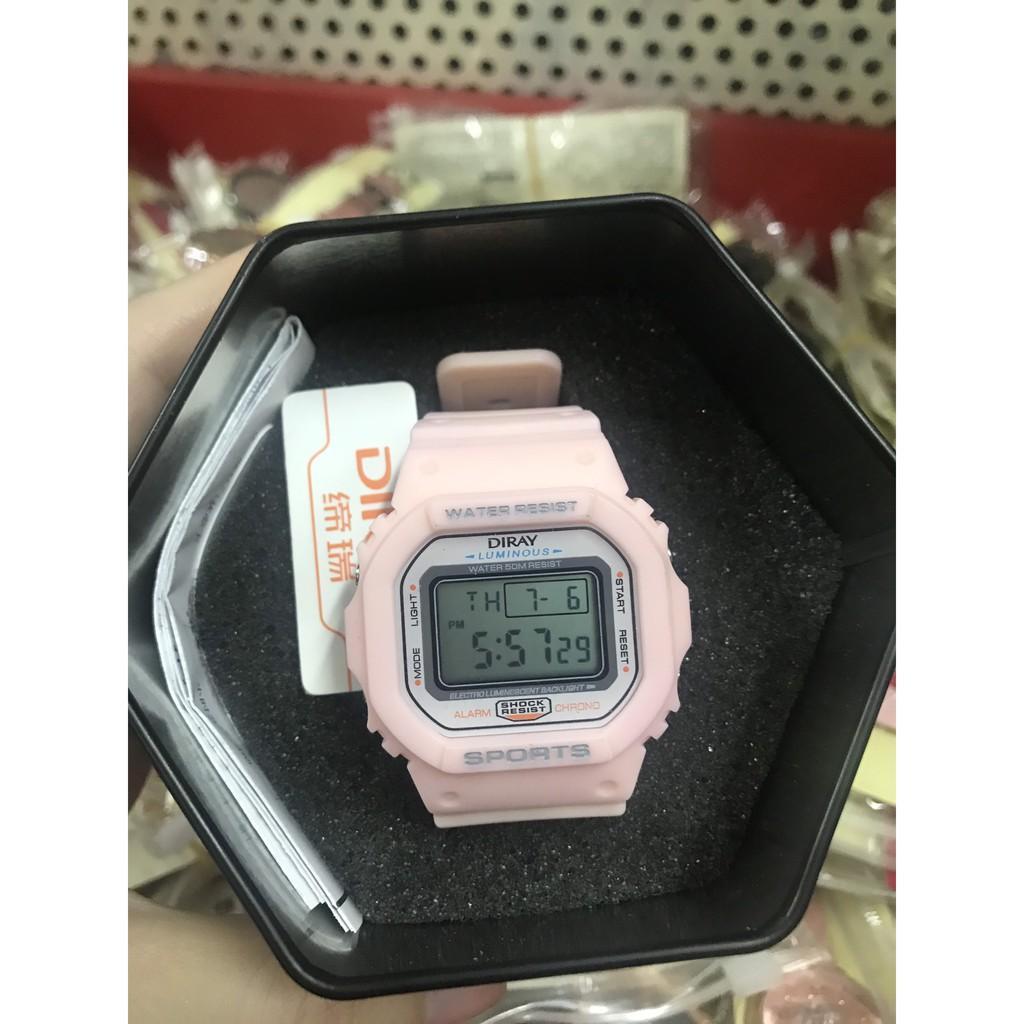 Đồng hồ Diray 218l chính hãng bảo hành 6 tháng