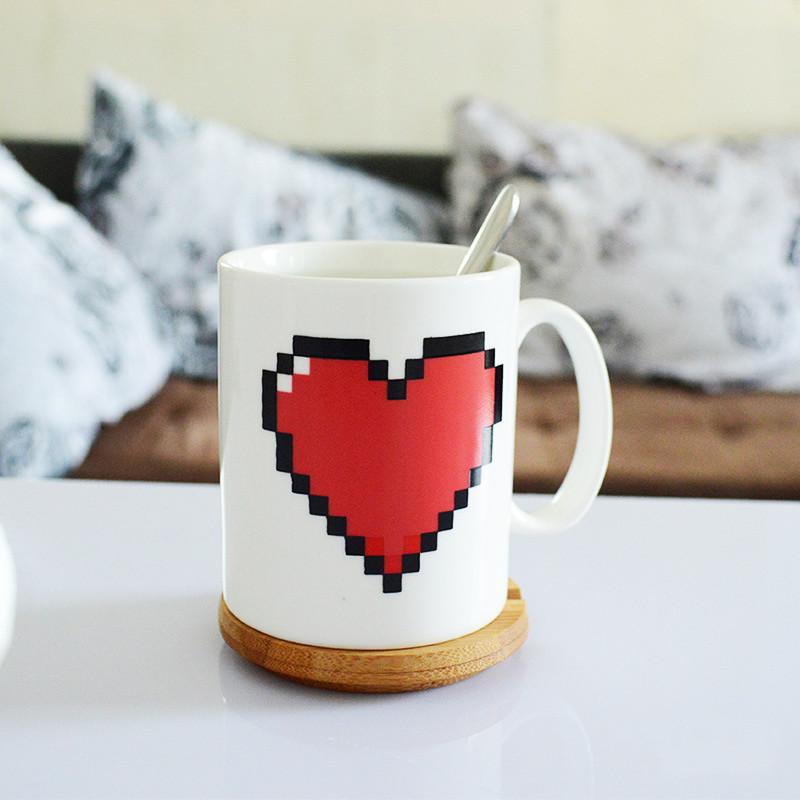 Ly đổi màu trái tim (Màu trắng)
