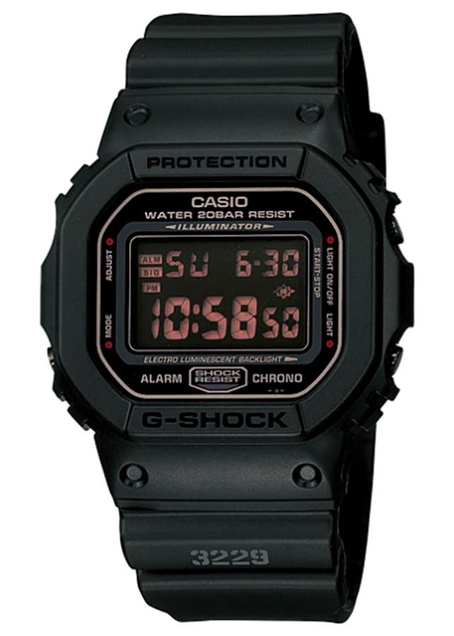 Đồng hồ nam dây nhựa Casio G-SHOCK DW-5600MS-1DR