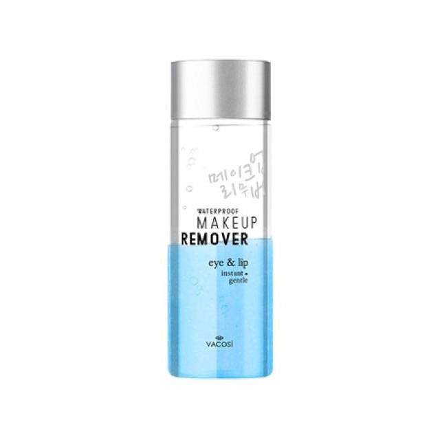 Nước tẩy trang mắt và môi Vacosi Waterproof Makeup Remover For Eye & Lip