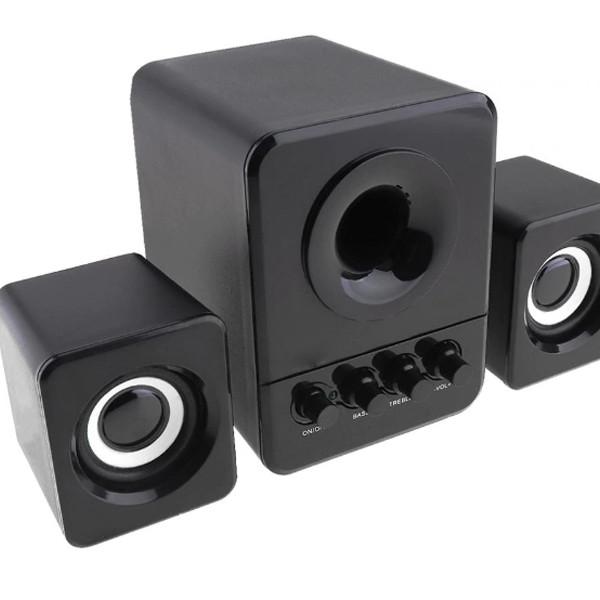 Bộ 3 Loa Máy Tính USB 2.1 D-203