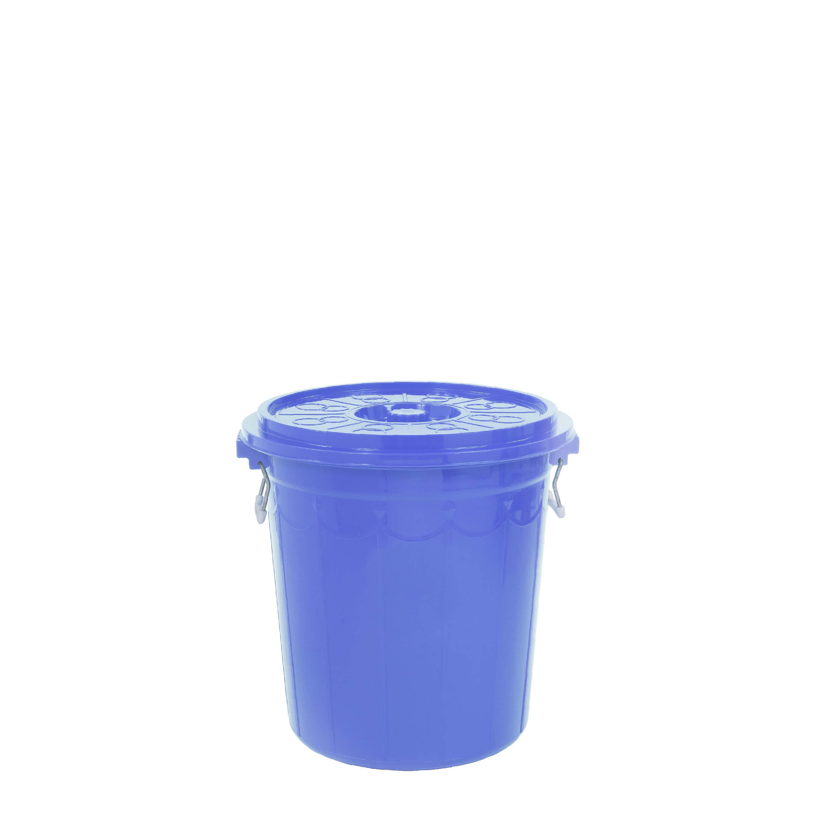 Thùng nhựa 25 lit Đại Đồng Tiến Màu Xanh Dương