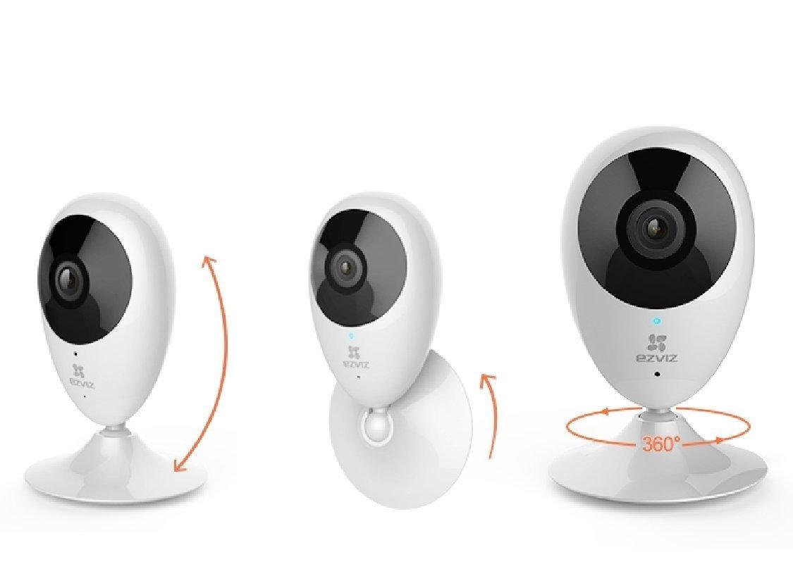 Combo Camera IP Wifi Ezviz C2C (CS-CV206) + Thẻ nhớ Ezviz 32GB - Hàng chính hãng