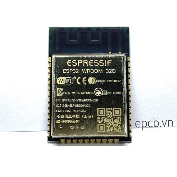 Module ESP32 WROOM 32D(4MB)