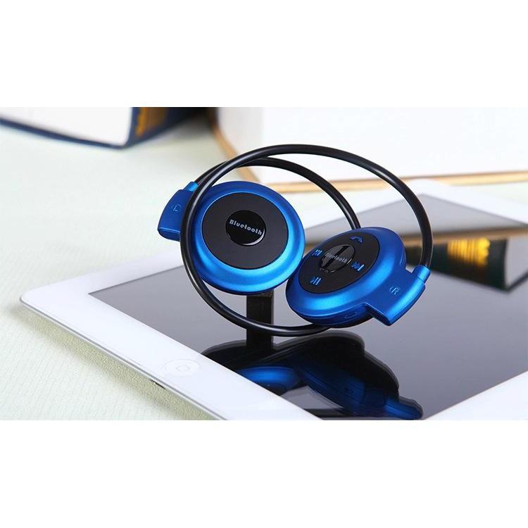 tai nghe bluetooth,Tai nghe Bluetooth không dây mini 503TF (2 tai tròn, vàng) ()