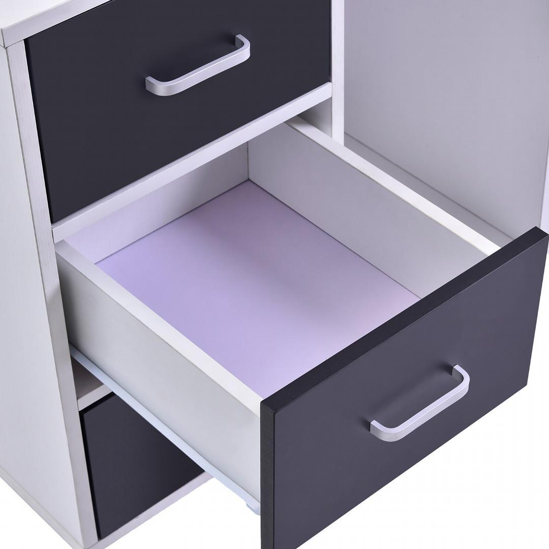 Tủ đựng tài liệu, tủ để hồ sơ, tủ để máy in gỗ hiện đại SMLIFE Paul