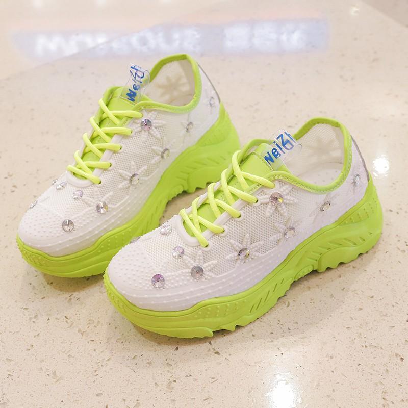 Giày Thể Thao Nữ Ulzzang  Hè Kiểu Dáng Hàn Quốc MPS287 - Mery Shoes