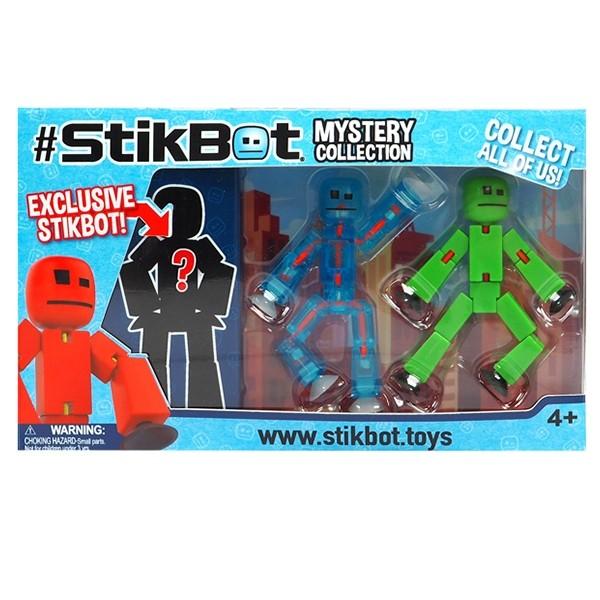 Stikbot huyền bí-xanh da trời và xanh lá cây STIKBOT TST616-3/BG