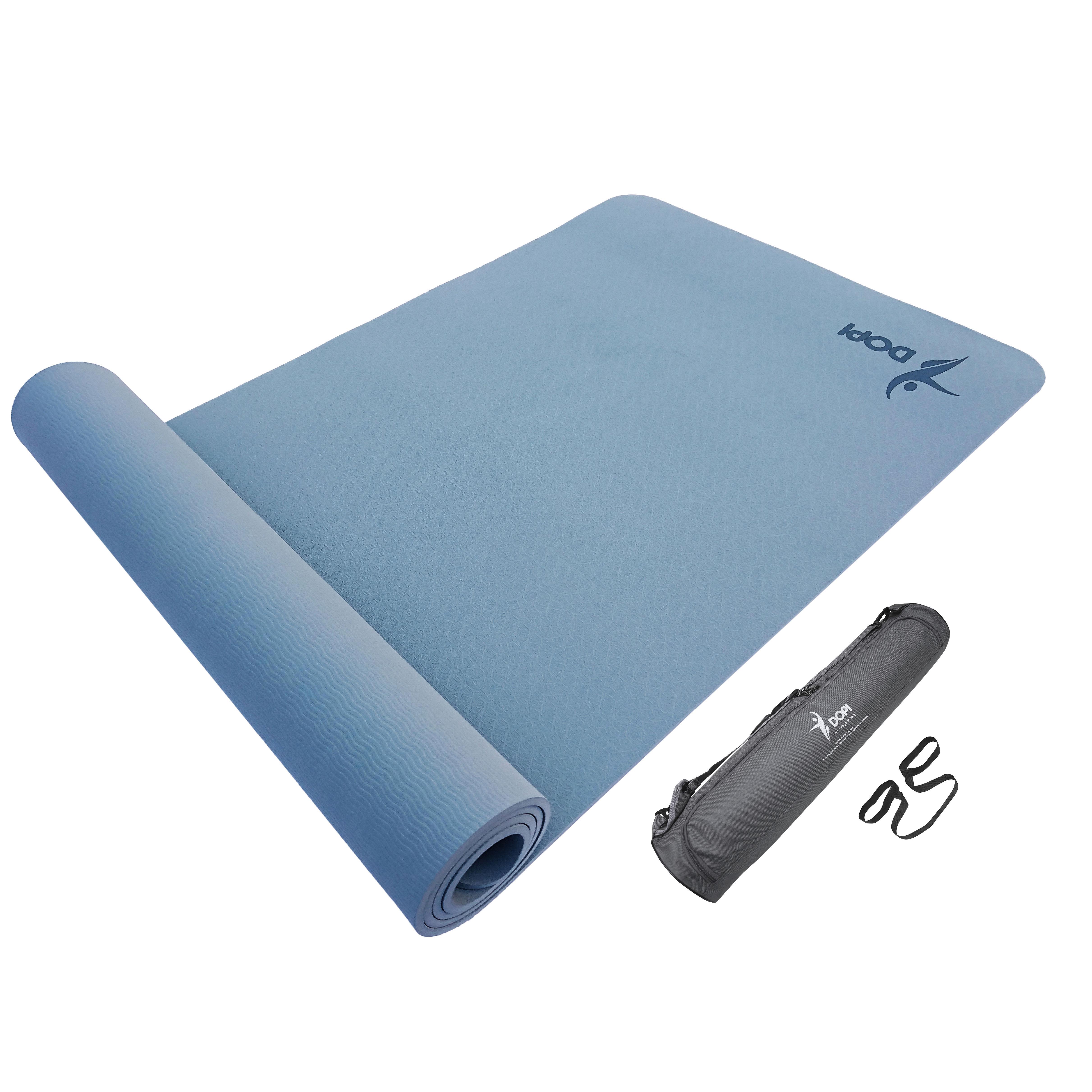Hình ảnh Thảm tập yoga DOPI cao cấp siêu bám DP3505 tặng kèm túi và dây
