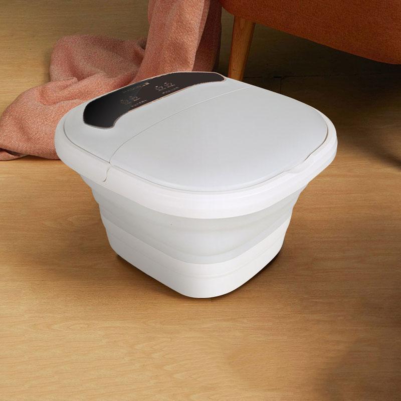 Chậu Ngâm Chân thư giãn Massage K6A Bản Nâng Cấp,Kết hợp điều khiển thông minh, Sử Dụng Hệ Thống Sưởi PTC Thông Minh duy Trì Nhiệt Độ, có thể điều chỉnh từ 35*C - 47*C- Hàng Chính Hãng