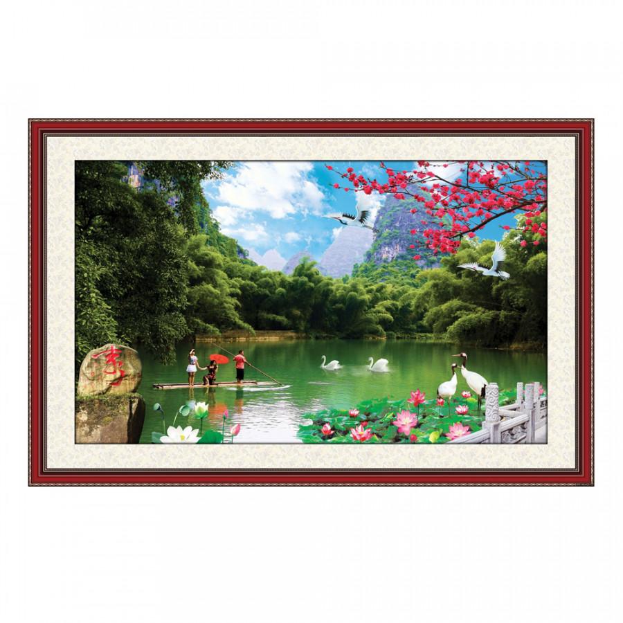 Tranh Treo Phong Thủy Nhà Cửa Q12K-ZTH(49)