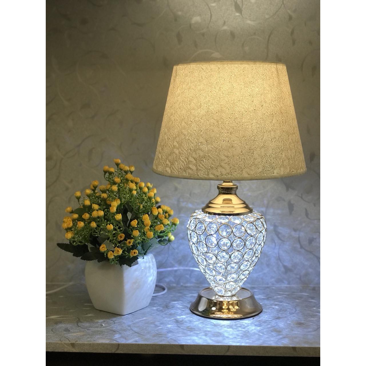 Đèn ngủ - đèn ngủ trang trí - đèn ngủ để bàn pha lê sang trọng 5288