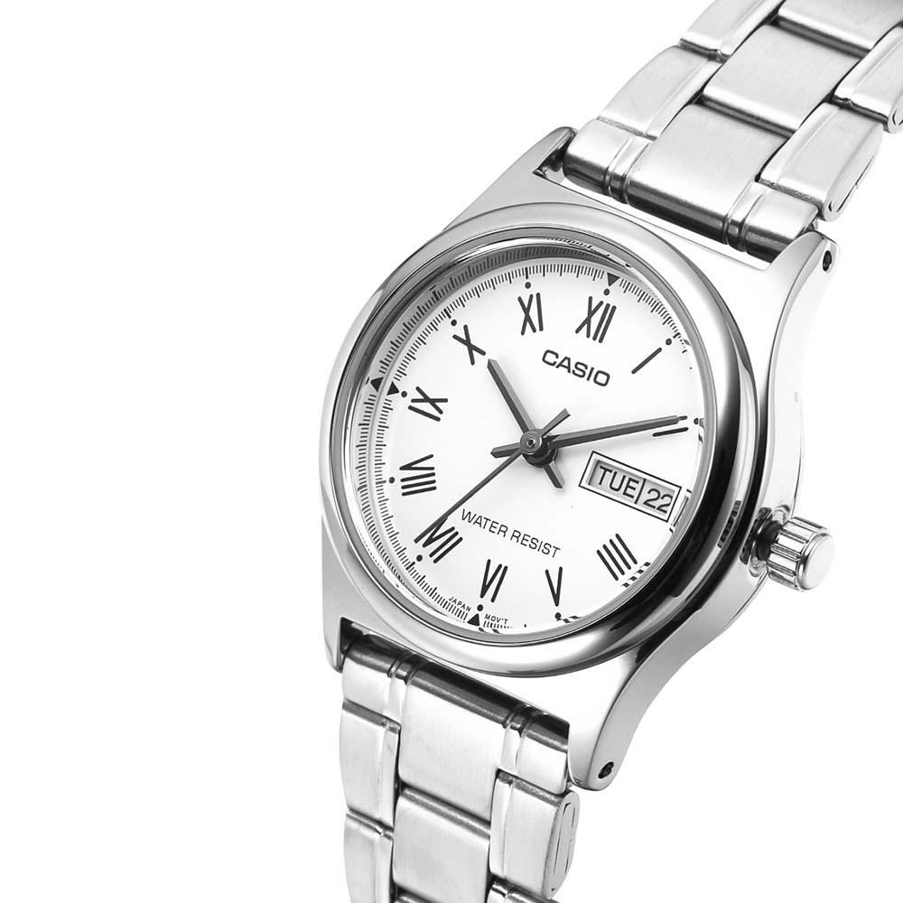 Đồng hồ nữ Casio LTP-V006D-7BUDF dây kim loại