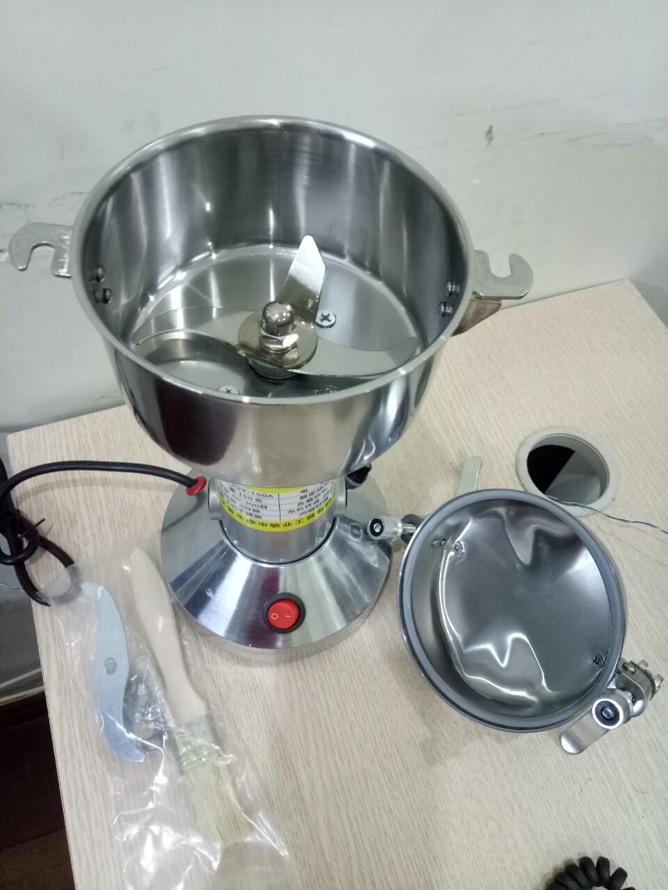 Máy xay nghệ, bột quế hồi, ớt khô bằng inox dành cho bếp gia đình tối đa 150g/lần xay