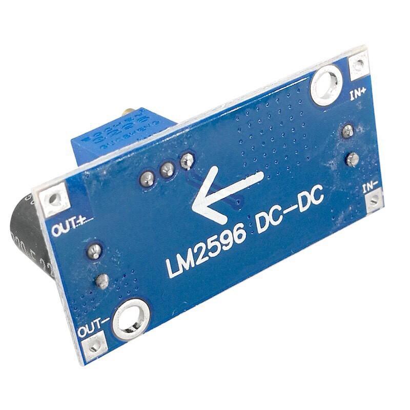 Module giảm áp 3A lm2596s adj DC-DC loại cải tiến