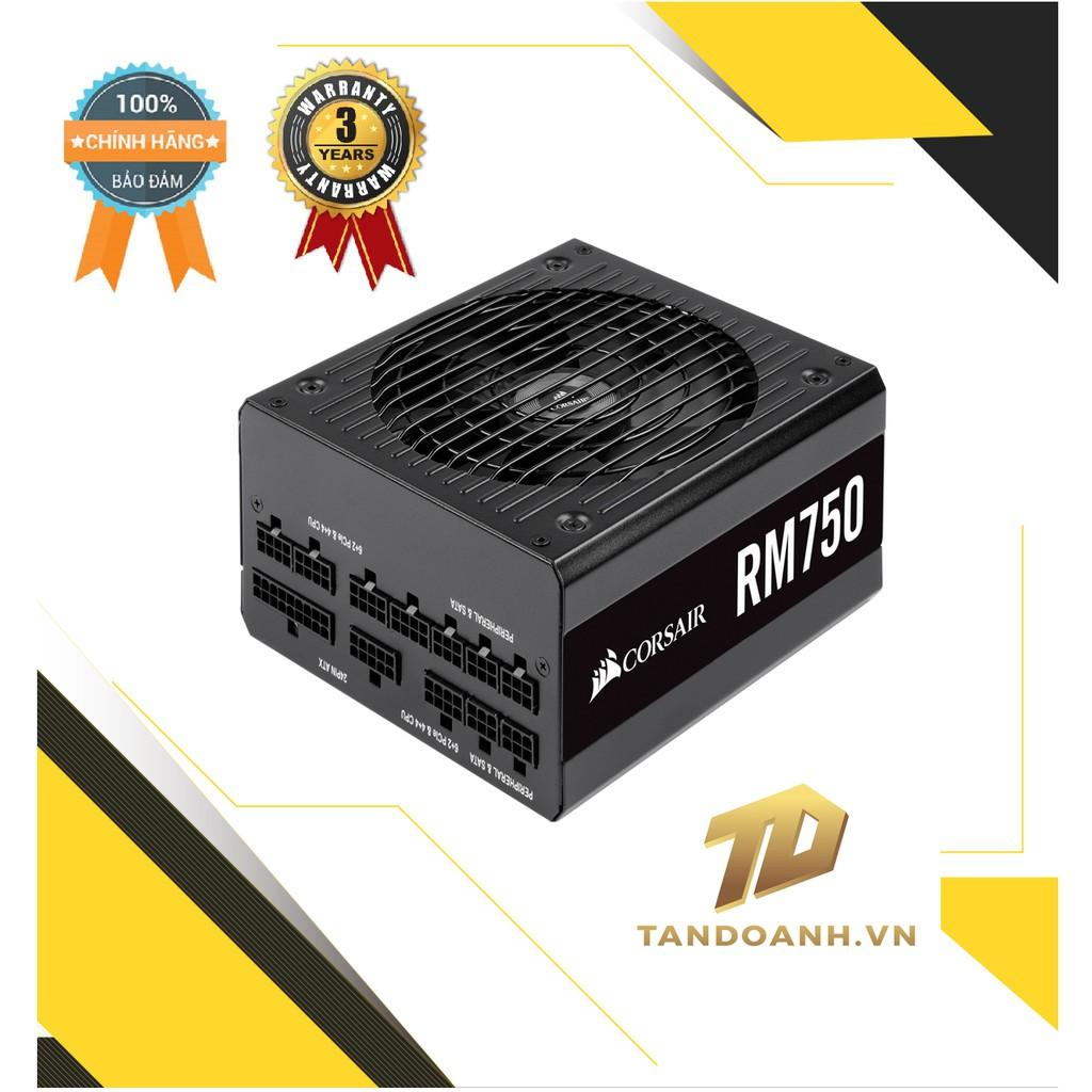 Nguồn máy tính Corsair RM Series 750 (2019)- HÀNG CHÍNH HÃNG