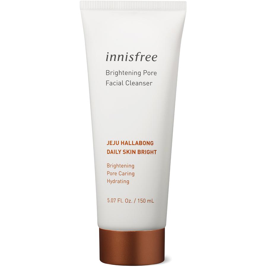 Sữa Rửa Mặt Làm Sáng Da 3 Trong 1 Innisfree Brightening Pore Facial Cleanser (150ml)