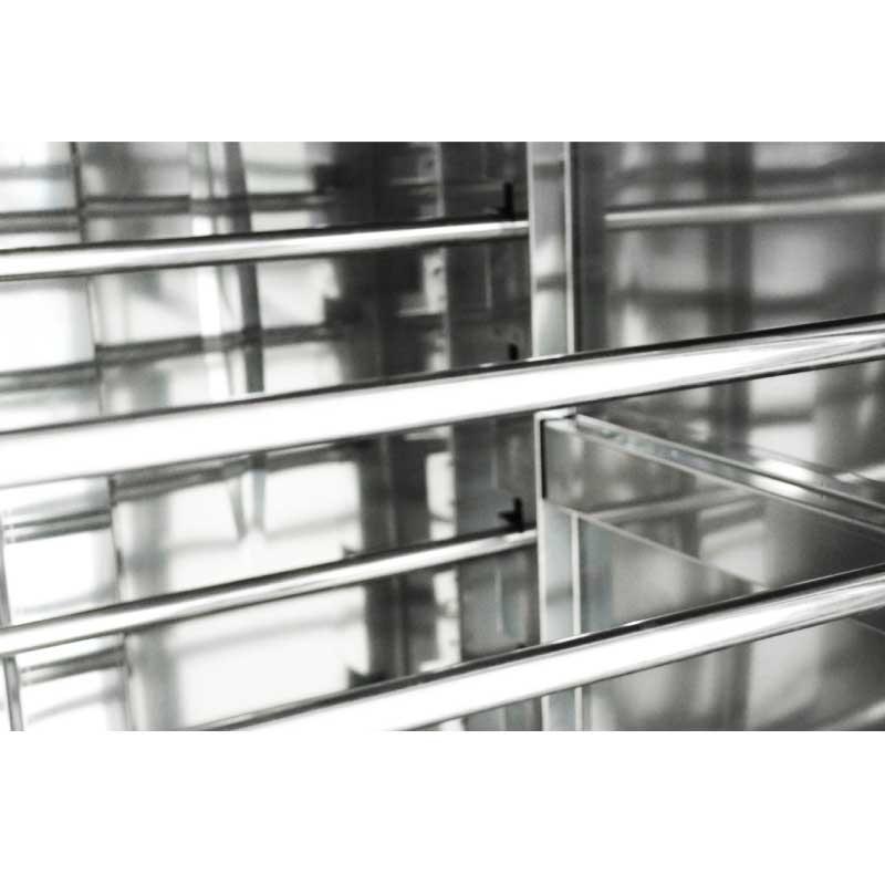 Tủ ủ bột, máy lên men thực phẩm loại 26 khay PF26. Máy dùng cho gia đình, hộ kinh doanh, nhà hàng, sản xuất công nghiệp số lượng lớn. Hàng chính hãng SGE Thailand.