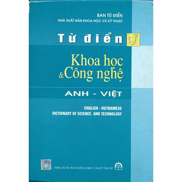 Từ Điển Khoa Học Và Công Nghệ Anh Việt
