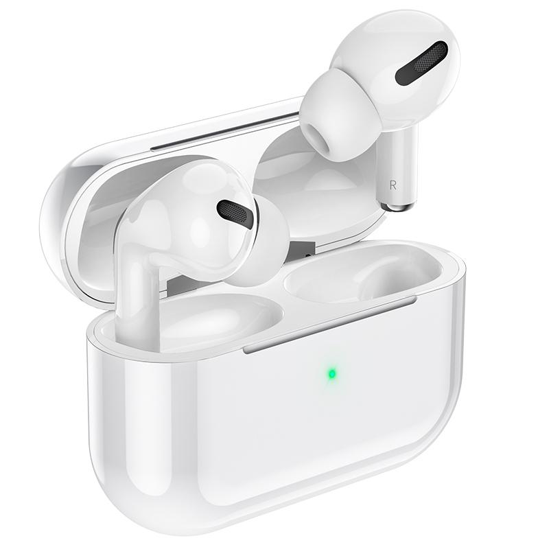 Tai Nghe True Wireless Bluetooth Cao Cấp Âm Thanh Sống Động Hoco ES48 - Cảm Ứng - Màn Hình Pop Up - Sạc Không Dây - Hàng Chính Hãng