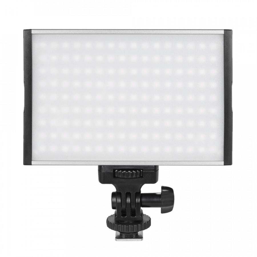 Tolifo PT -15B Pro High Power Ultra -thin Dimmable Bi -color Temperature 3200K - 5600K 144pcs LED Light Fill -in On -camera Pt -15B Pro