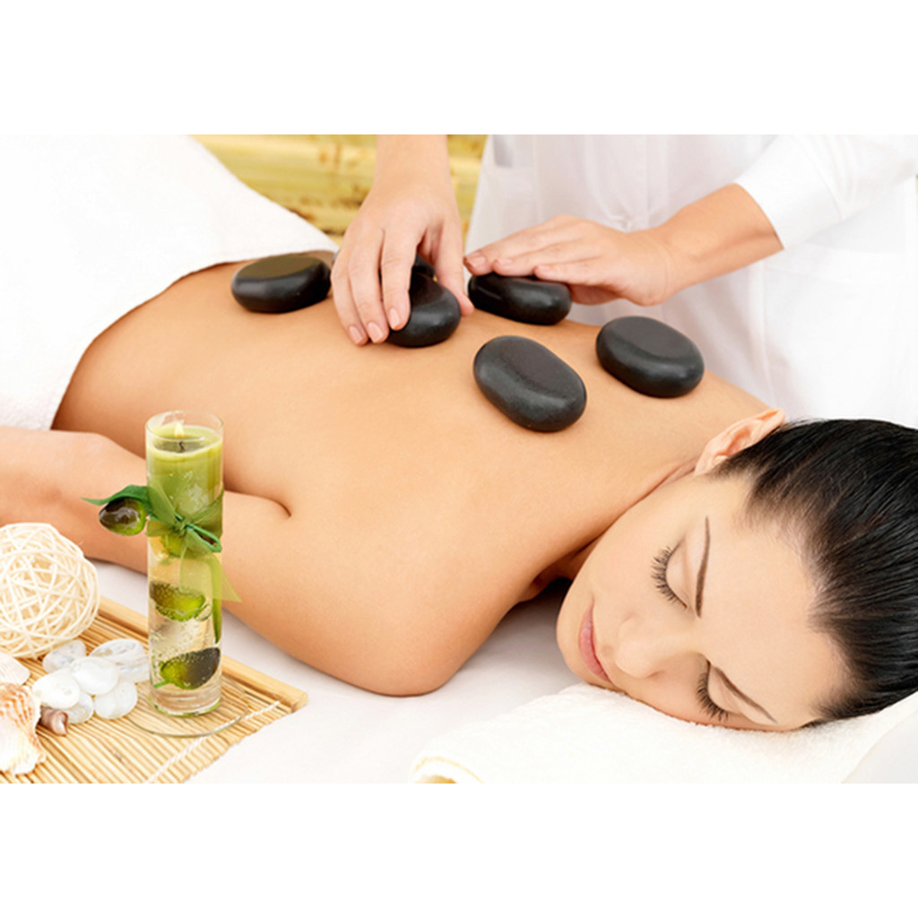 Bộ 27 Viên Đá Nóng Massage - Đá Núi Lửa Massage