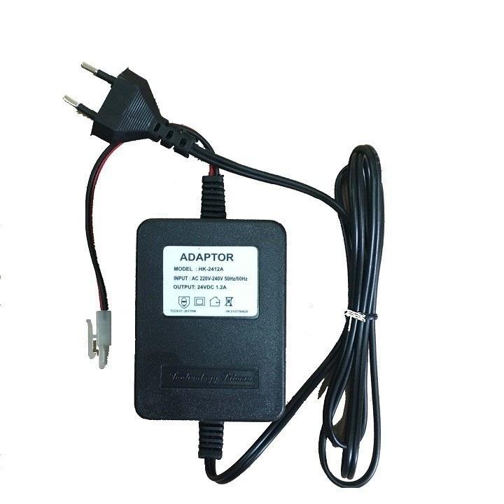 Máy bơm nước mini 24V có thể dùng bơm phun sương áp lực kèm nguồn Adaptor 24V