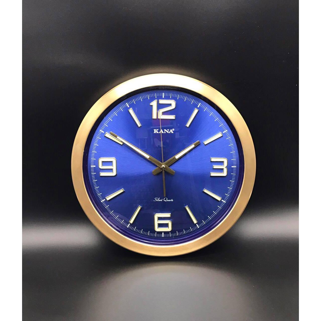 Đồng hồ treo tường KN-S45x (xanh dạ quang)