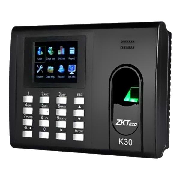Máy chấm công vân tay thẻ ZKTeco K30 - Hàng nhập khẩu