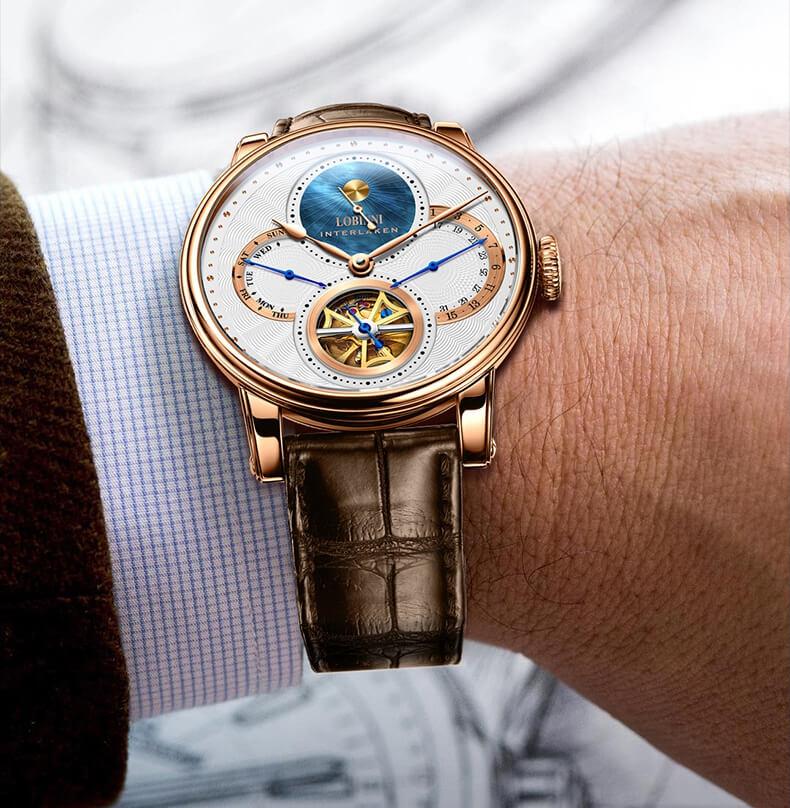 Đồng hồ nam chính hãng LOBINNI L16015-1