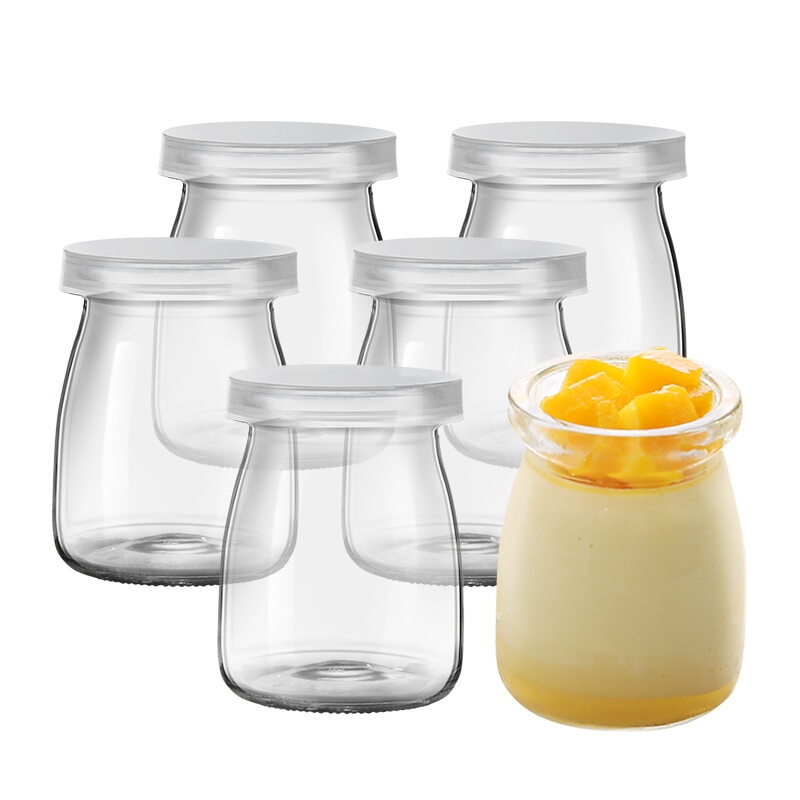 Sét 12 Hũ Thuỷ Tinh Làm Sữa Chua Magic Kitchen