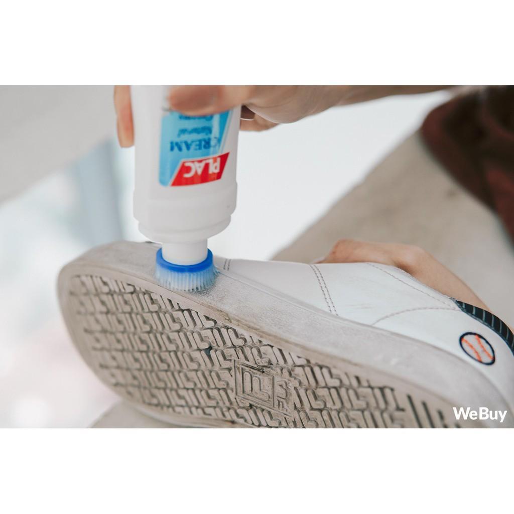 Chai đánh giày dép túi sách PLAC siêu trắng