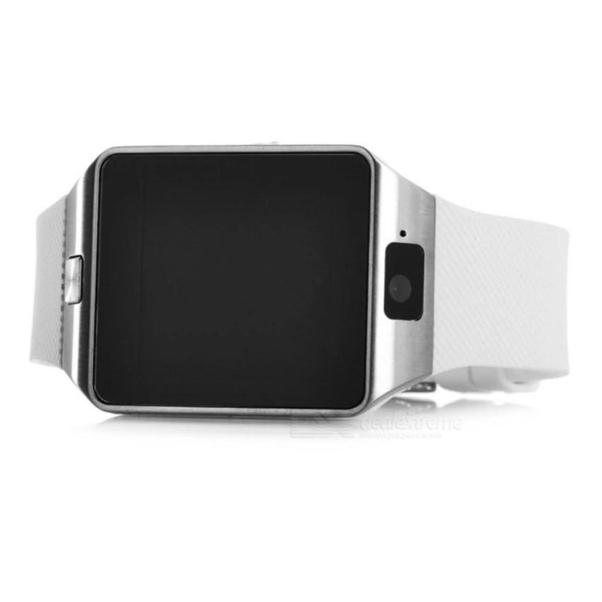 Đồng Hồ Smart Watch DZ09 Trắng Gắn Sim Nghe Gọi như điên thoại